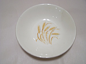 Homer Laughlin Golden Wheat Pattern Fruit/dessert Bowl