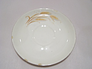 Homer Laughlin Golden Wheat Pattern Saucer