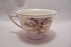 Edwin Knowles Hostess Pattern Yellow Flowers Cup