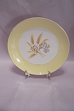 Century Services Autumn Gold Pattern Dinner Plate