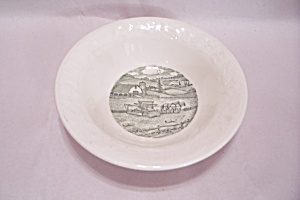 Homer Laughlin Pastoral Pattern Dessert Bowl