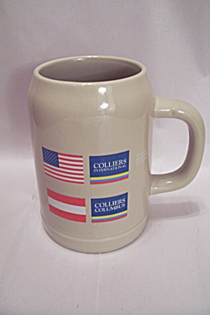 Colliers Advertising Beer Mug