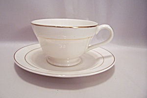 Knowles Tradition Pattern Fine China Footed Cup