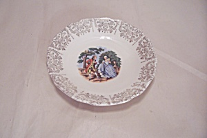 Sabin Colonial Couple Pattern China Dessert/berry Bowl