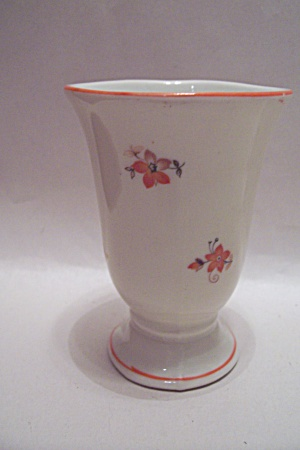 German - Dulsdorf Pedestal Porcelain Toothpick Holder