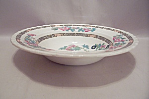 Myott Indian Tree Pattern Fine China Rim Soup Bowl