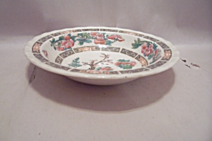 Myott Indian Tree Pattern Fine China Berry/dessert Bowl