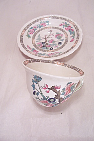 Myott Indian Tree Pattern Fine China Saucer