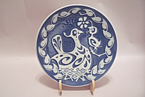 Royal Copenhagen 1975 Mors Dag/mother's Day Plate