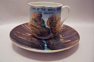 Cave Of The Winds, Co Souvenir Demitasse Cup & Saucer
