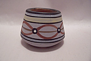 Southwestern Style Pottery Toothpick Holder