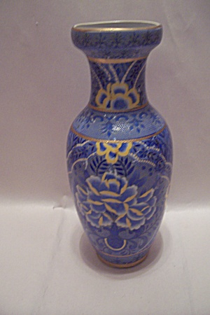 Chinese Porcelain Flower Decorated Vase