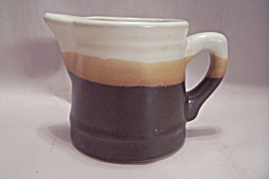 Staffordshire Doverstone Heather Pattern Creamer