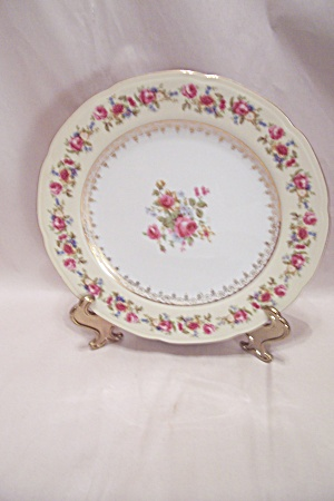 Gold Castle/hostess Pattern Fine China Dinner Plate