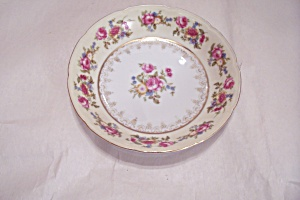Gold Castle Pattern Fine China Salad Plate