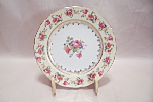 Gold Castle Pattern Fine China Bread & Butter Plate