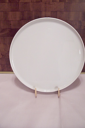White China Cop Plate/serving Tray