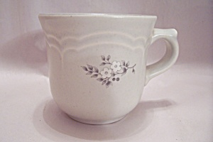 Pfaltzgraff White Flower Decorated Cup