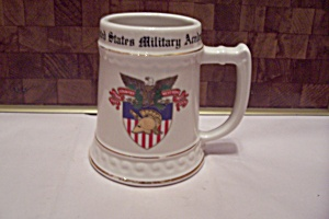 Porcelain United States Military Academy Beer Stein