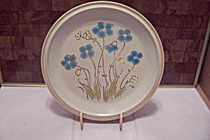 Garden Festival Highland Flowers Pattern Dinner Plate