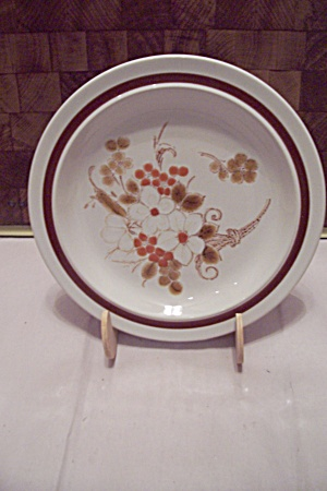 Four Seasons Autumn Bouquet Stoneware Salad Plate