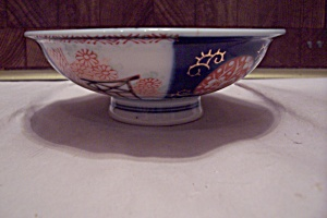 China Floral Oriental Decorated Footed Rice Bowl