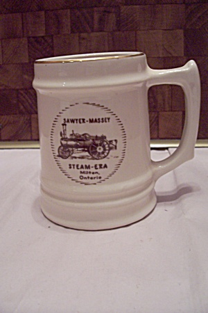 Porcelain Sawyer-massey Steam Era Beer Mug