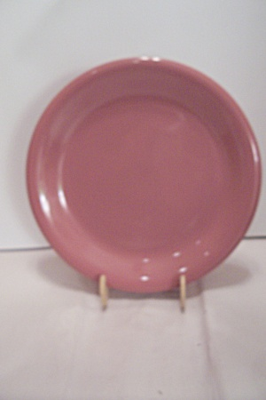 Pink China Dinner Plate