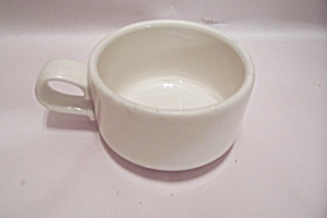 Homer Laughlin White Porcelain Stackable Cup