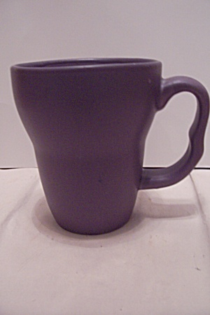 Large Porcelain Purple Mug