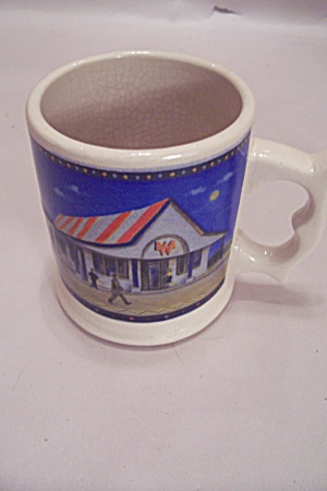 Whataburger 50th Anniversary (1950-2000) Porcelain Mug