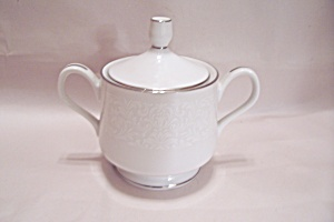 Carriage House Young Lace Pattern Fine China Sugar Bowl