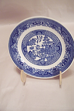 Royal China Willow Ware Pattern Bread & Butter Plate