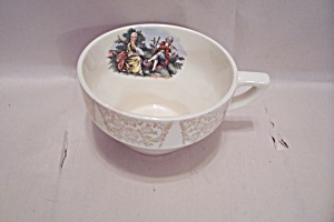 Sabin Colonial Couple Pattern Fine China Footed Cup