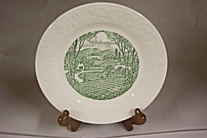Homer Laughlin Pastoral Plate