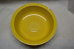 "Fiesta 8-1/2"" Yellow Vegetable/nappy Bowl"