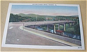New Wasena Bridge Roanoke Virginia Linen
