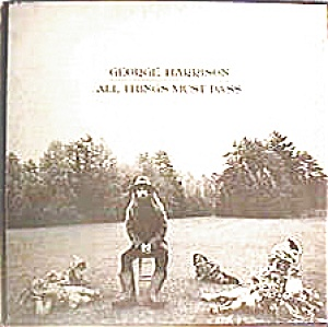 All Things Must Pass - George Harrison Lp Record Set