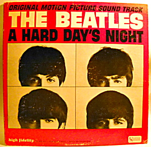 'a Hard Day's Night' Beatles Lp Vinyl Mono Record 1964