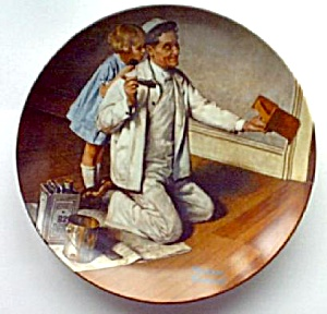 "Norman Rockwell's ""the Painter"" 1983"