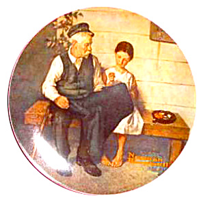 Rockwell Plate 'lighthouse Keeper's Daughter'