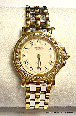 'raymond Weil' 'parsifal' Swiss 18k Gold Lady's Watch