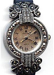 Dejuno Marcasite Lady's Quartz Wristwatch