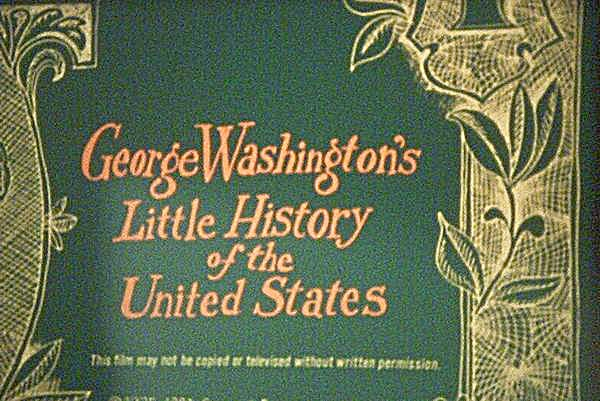 16mm Film - George Washington's History Of The U.s.