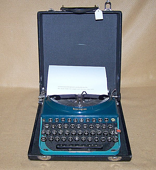 1930 Remington Portable #3 Manual Typewriter 8062