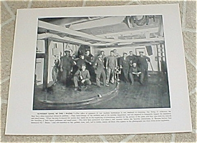 1898 Uss Maine Gunners' Gang & Masters-at-arms Mess Prints