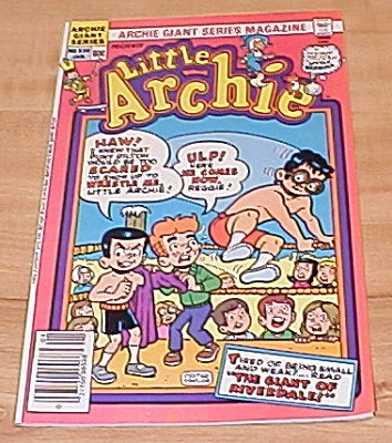 Archie Giant Series: Little Archie Comic Book No. 534