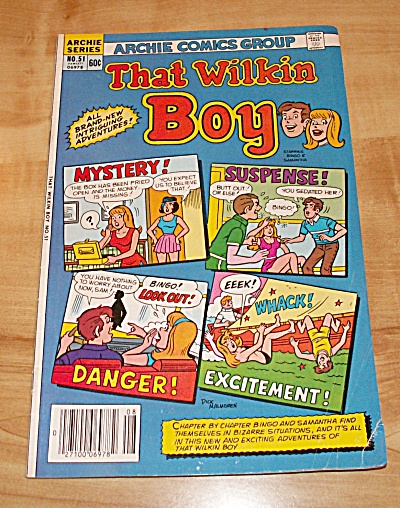 Archie Series: That Wilkin Boy Comic Book No. 51