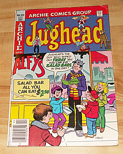 Archie Series: Jughead Comic Book No. 322