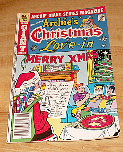 Archie Giant Series: Archie's Christmas Love-in Comic Book No. 514